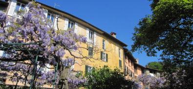 Casa con Glicine