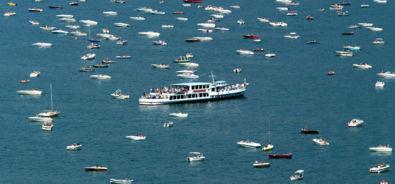 Lago Ceresio / battello / barche