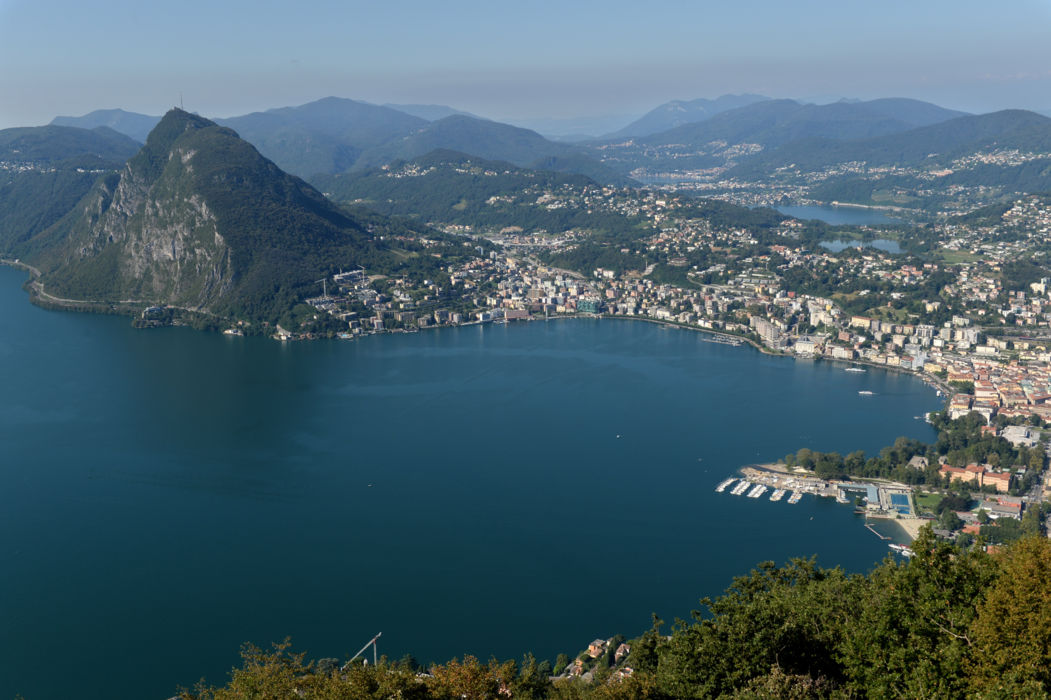 Monte San Salvatore in Lugano TicinoTopTen