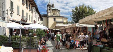 Mercato di Cannobio (Italia)