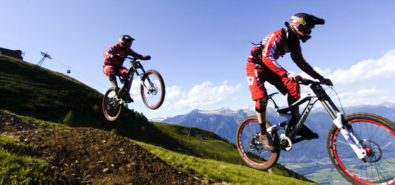 Mountain Bike  / Pista Downhill ( Monte Tamaro )