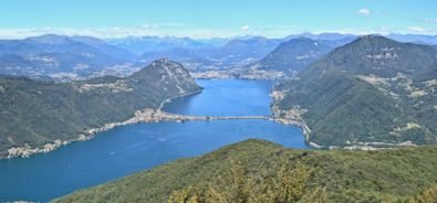 Panoramica dal Monte San Giorgio