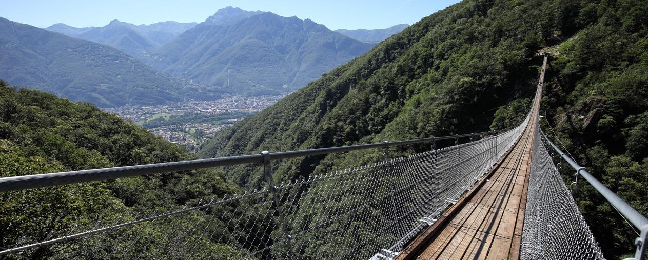 Ponte Tibetano di Curzùtt