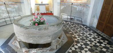 il battistero del VI secolo