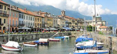 lungolago di Cannobio (Italia)